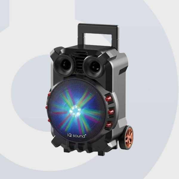 IQ Sound IQ 3088DJBT-8-LED Tailgate Rechargeable Bluetooth